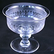 Antique English Footed Glass Compote