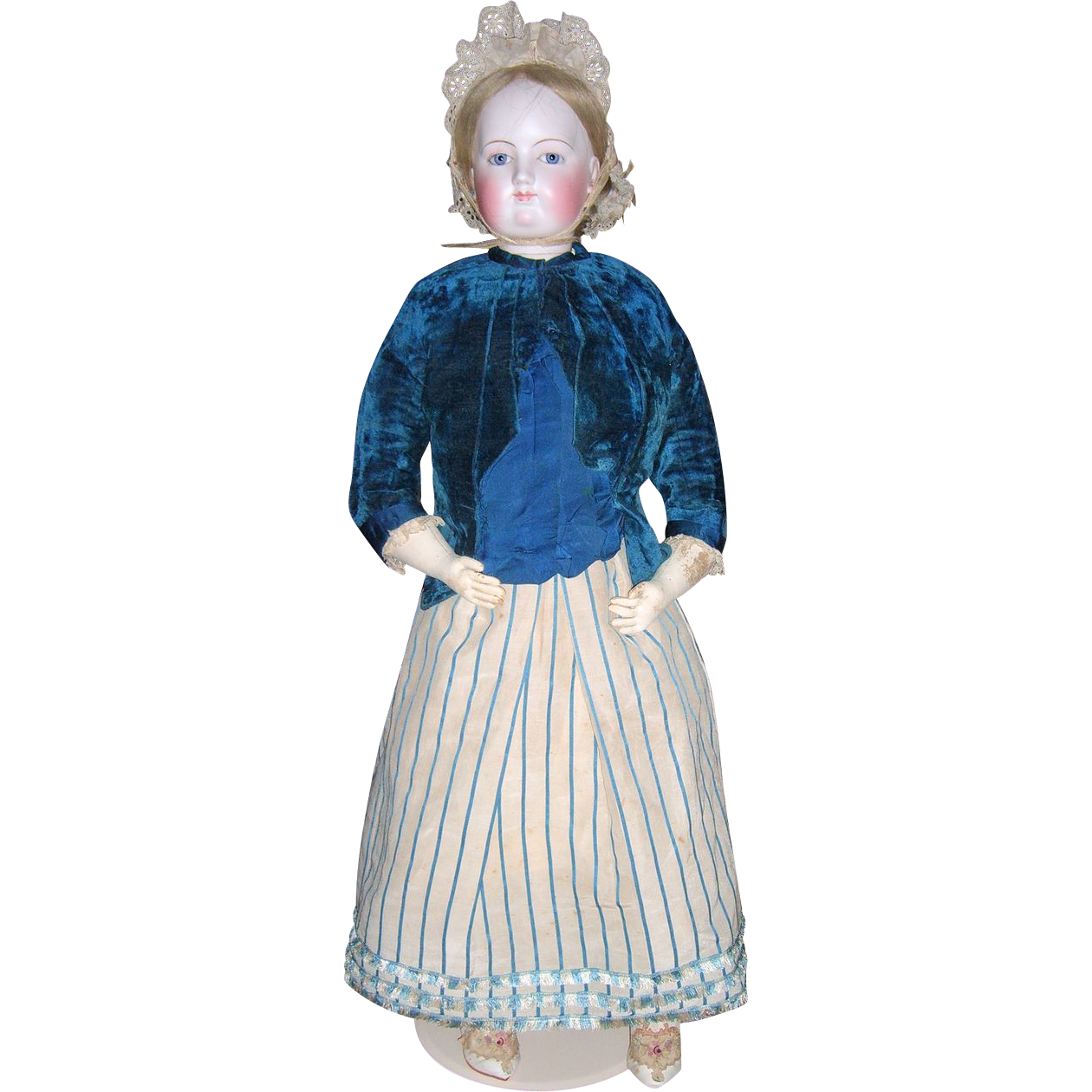 """HUGE 35"""" RARE Exhibition French Fashion Doll - ALL ORIGINAL - Layaway"""