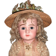"SALE Lovely 24"" Steiner A Circa 1889 Antique Doll - Layaway"