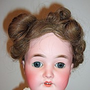 "REDUCED 28"" Queen Louise Antique Doll - layaway!!"