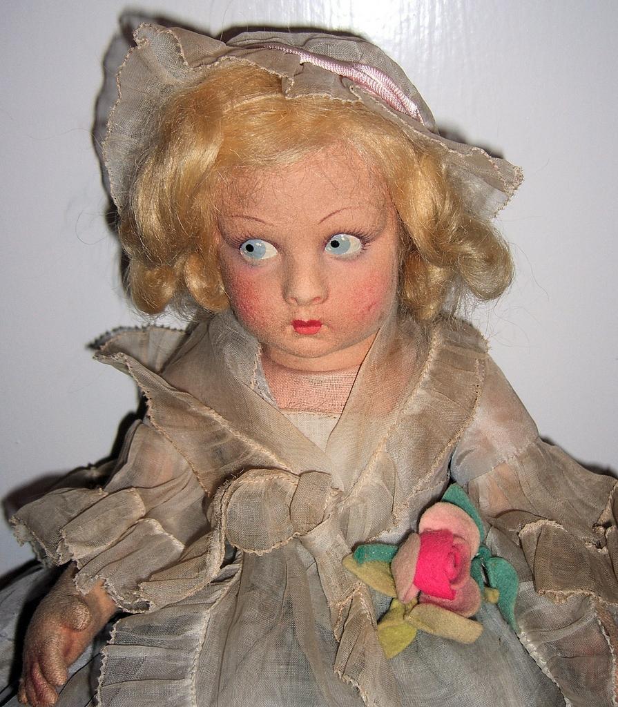 Lenci Doll Bambola - All Original Tagged w/Lucia Face
