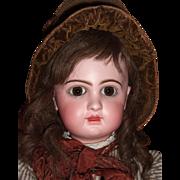 """RARE 24"""" E11D Circa 1892 Antique Jumeau Doll by Emile Douillet - Orig. Shoes Layaway"""