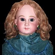 """SALE RARE & Stunning 30"""" Schmitt Et Fils Antique Doll - Layaway"""