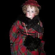 "ALL ORIGINAL 18"" French Fashion Antique Doll - Layaway"