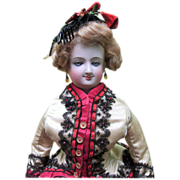 "LAYAWAY 21"" Antique  Bru Smiler French Fashion Doll ALL ORIGINAL"