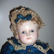 "RARE 18"" 1880 Schmitt & Fils Antique Doll"
