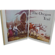 SALE The Oregon Trail by Francis Parkman, Thomas Hart Benton (illustrator). Garden City, New Y