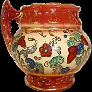 SALE Colorful Faience / Earthenware ~ MUG  Haynes Balt Ware ~ Art Nouveau Pattern ca.1900 ...
