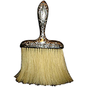 SALE Sterling Silver Whisk or Hat Brush Vanity Item
