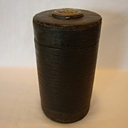 Large Two Sided Leather Covered Collar Box with Stud Holder – March 25, 1890