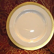 "SALE 12 Available Pickard 6 3/8""  Bread & Butter Plate ~  Hand Painted with Encrusted Diamon"