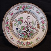"""""""Hard to Find"""" English Plate ~  Dresden Pattern (Indian Tree) D2920 ~ By Doulton & Co Staffordshire England 1891-1902"""