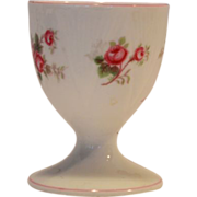 Shelley Bone China Egg Cup ~ Rose Spray / Bridal Rose Pattern 13545~ Dainty Shape ~ Shelley En