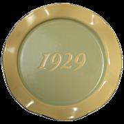 1929 Enamelware Premium Plate