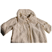 SALE Baby Doll Silk Jacket with Hand Embroidery and Hand Finishing