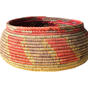 SOLD Native American Indian Woven Basket