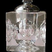 Glass Cigarette Lighter Works 1960-70