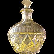Crystal Perfume Bottle Lavender Purple Perfect
