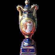 Porcelain Perfume Bottle Royal Austria Mark with Beehive