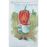 SALE Valentines Post Card Tucks Series for Patch Garden