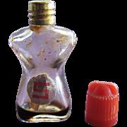 SALE Vintage Mini Perfume Bottle Shocking Tiny Schiaparelli Novelty Perfume