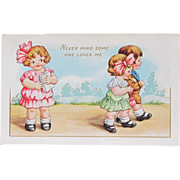 SALE Valentine's Day Post Card Whitney Publishing