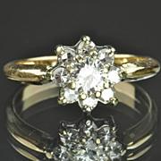 .70 Carat Diamond Flower Ring