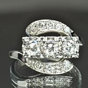 SALE 1 Carat Vintage Diamond Ring