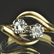 SALE Rose Cut Diamond Ring