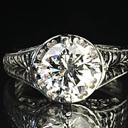 SALE 2.25 Carat Diamond Engagement / Wedding Ring