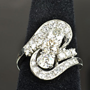 SALE 2.37 Carat Art Deco Diamond Ring / CLEARANCE SALE!!