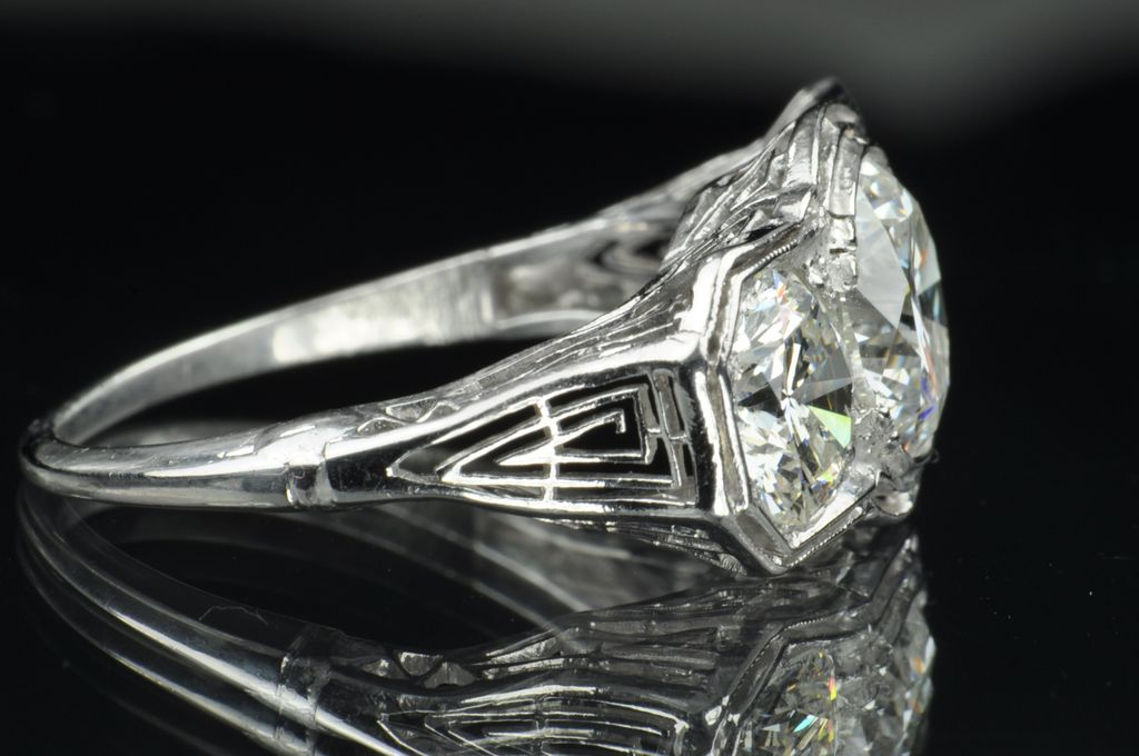 4 43 Carat 3 Stone Diamond Ring Price Reduced 5K for limited Time from time