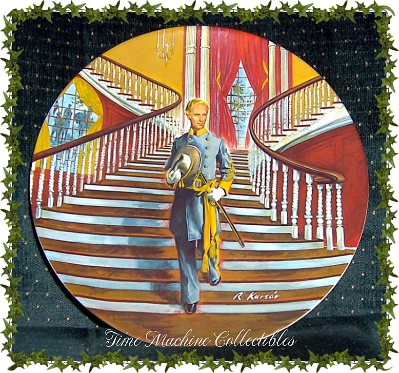 1979 Ashley~~Edwin M. Knowles Collectors Plate, Marked 50% Off