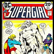 SALE 1973 Supergirl Comic, No. 7, Marked 50% Off