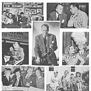 1940's Tom Breneman Breakfast Club Postcards, Marked 50% Off