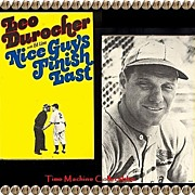 1975 Nice Guys Finish Last Book by Leo Durocher with Ed Linn, Marked 50% Off