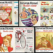 SALE 1933-35 Junior Home for Parent and Child & for Mothers Magazines