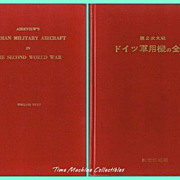1958/1960 Airview's German Military Aircraft in The Second World War Books, English and Japane