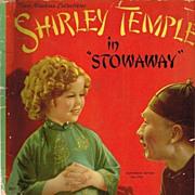 1937 Shirley Temple in Stowaway Book