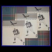 1965 Eagles Pete Retzlaff Appreciation Day Souvenir Programs, December 19-20