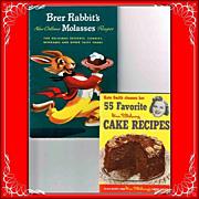 1948 Brer Rabbit's and 1952 Kate Smith Cookbooks