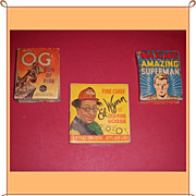 Three 1930's-40's Big and Better Little Books, Marked Over 50% Off