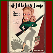 SOLD 1944 Four Jills In A Jeep Book by Carole Landis