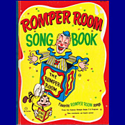 SALE 1966 Romper Room Song Book, Hardcover, by Nancy Claster