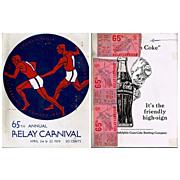 The 65th Annual Penn Relay Carnival Program for 1959