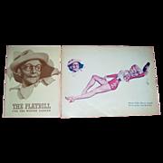1944 A. Varoa Cover Mexican Hayride Souvenir Program and Playbill
