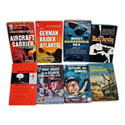 1950's and 1960's WWII Paperback Adventure Novels