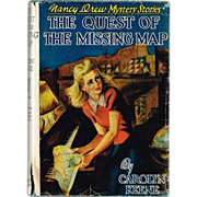 1955 Nancy Drew The Quest of The Missing Map