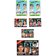 Nine 1966 Topps Baseball Cards
