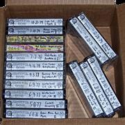 SOLD 16 Grateful Dead Live Concert Tapes 1976 Thru 1980, Group 2